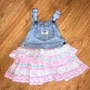 Oshkosh Overall Dress | 18 months